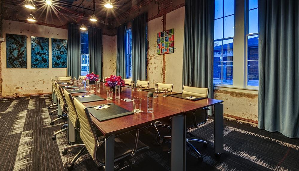 Meeting venue at CANVAS Hotel Dallas