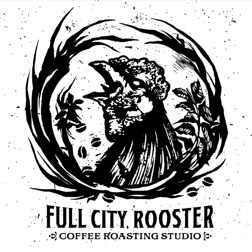 Full City Rooster Logo