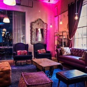Furniture and Decor at CANVAS Hotel Dallas