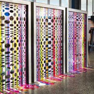 Artistic wall dividers