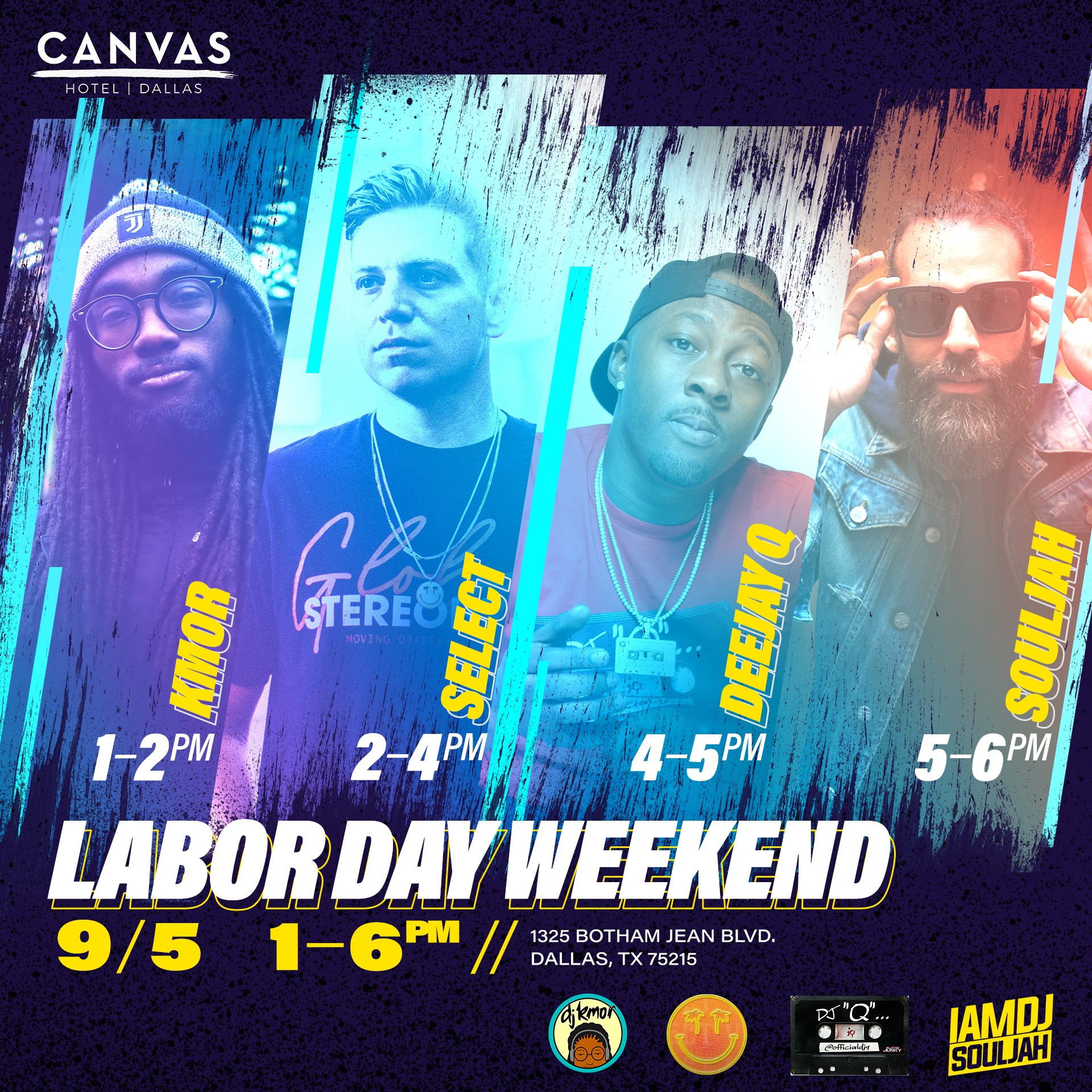 Labor Day Weekend Event Details With People